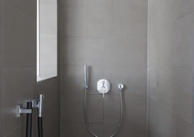 Dusche im Detail